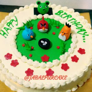 cake for angry bird lovers