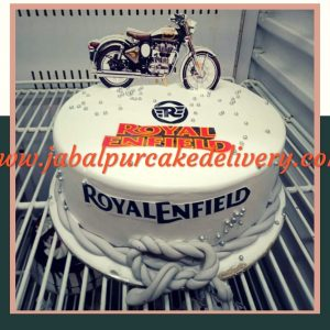 Cake for Royal Enfield