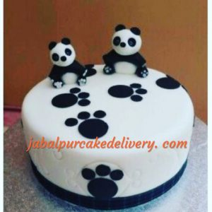 Panda Together Cake