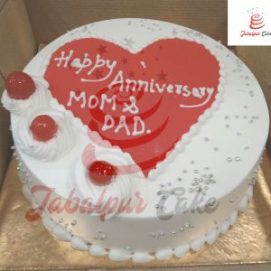 Mom dad anniversary cake