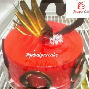 classic red cake
