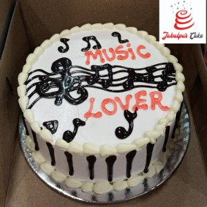 cake for music lover